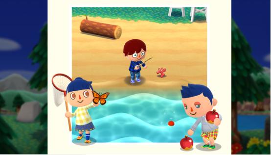 どうぶつの森 ポケットキャンプ 内容