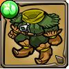 ゴブリン族の森林服